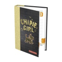 CHIPIE Agenda 400110651 - 12 x 17 cm - 1 jour par page - Couverture Rigide - 384 P
