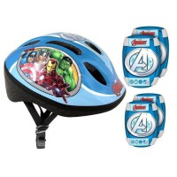 AVENGERS Pack Protections - Casque - Genouilleres - Coudieres
