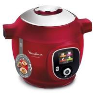 MOULINEX CE85A510 Multicuiseur intelligent cookeo 180 recettes incluse Rouge