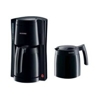 SEVERIN KA 9234 Cafetiere filtre avec verseuse isotherme - Noir