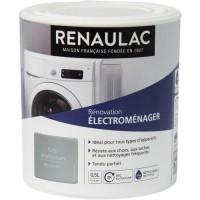RENAULAC Peinture Rénovation Electroménager Gris Aluminium - Brillant - 0,5L - 6m²/ pôt