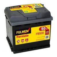 FULMEN Batterie auto FORMULA FB500 (+ droite) 12V 50AH 450A