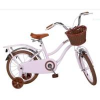 """Vélo Enfant Vintage 16"""" Rose"""