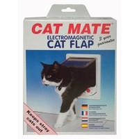 PET MATE Porte Cat Mate 254 Elec - Blanc - Pour chat