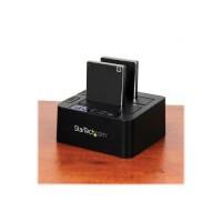 """StarTech.com Duplicateur USB 3.1 (10 Gb/s) autonome pour disques durs SATA 2,5"""" ou 3,5"""" (SDOCK2U313R)"""