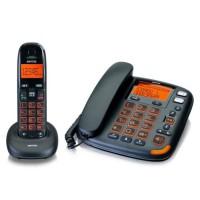 Téléphone sénior sans fil poste fixe + Téléphone filaire DCT50072-C SWITEL - Touches et écran XL - Puissance sonore réglable