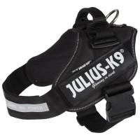 JULIUS-K9 Harnais Power IDC - 1 - L : 63-85 cm-50 mm - Noir - Pour chien