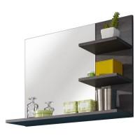 MIAMI Miroir de salle de bain L 72 cm - Gris anthracite mat
