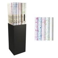 CLAIREFONTAINE Rouleau papier cadeau Excellia C'est la fete - 2 x 0,7 m - 90 g / m² - 5 visuels assortis sous film