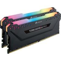 CORSAIR Mémoire PC DDR4 - Vengeance RGB Pro 16 Go (2 x 8 Go) - 2666 MHz - CAS 16 - LED RGB (CMW16GX4M2A2666C16)