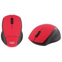 T'nB Souris optique sans fil ultra mini récepteur USB 2,4 GHz -Rouge