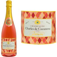Champagne Charles de Cazanove Cazanova Arlequin Rosé AOC