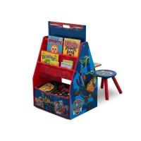 PAT PATROUILLE - Centre d'Activités 4 en 1 Enfant - Bleu et Rouge