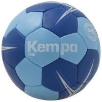KEMPA Ballon de handball Tiro - Bleu glacier et bleu roi - Taille 0