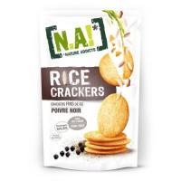 N.A Rice Crackers Sachet de Poivre - 70 g