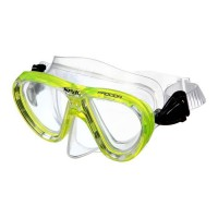 SEAC Masque de Plongée Procida Silter Clear - Junior/Enfant - Jaune