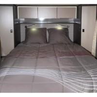 MIDLAND Lit Tout Fait 140x190 cm - Linge de lit camping-car