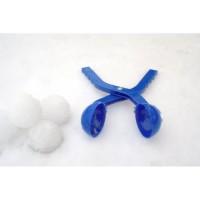 NIJDAM Snowball maker Pince a boules de neige - Rouge