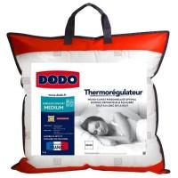 DODO Oreiller thermorégulateur - 60 x 60 cm - Blanc