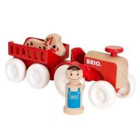 BRIO - My Home Town - Tracteur Et Remorque