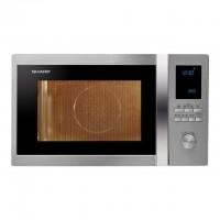 SHARP R-922STWE - Micro ondes grill Inox - 32 L - 1000 W - Grill 1100 W - Four 2500 W - Pose libre