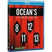 Coffret Blu-Ray OCEAN'S : Ocean's 11 / Ocean's 12 / Ocean's 13 / Ocean's 8