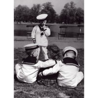 Affiche papier - les trois matelots - Photographie Collection - 50x70 cm