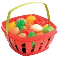 ECOIFFIER CHEF Panier Garni Fruits et Légumes Coloris Assortis