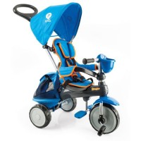 QPLAY - Tricycle ranger avec capote bleu