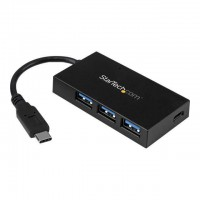 Hub USB 3.1 Gen 1 a 4 ports - 1x USB-C 3x USB-A - Concentrateur USB-C vers 1x USB-C 3x USB-A - HB30C3A1CFB