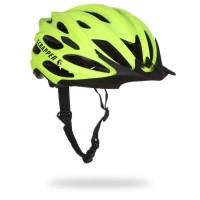 SCRAPPER Casque de vélo Scr Team - Homme - Vert lime