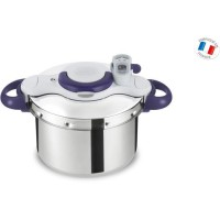 SEB CLIPSO MINUT PERFECT Autocuiseur P4620700 6L violet Tous feux dont induction