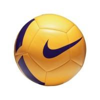 Nike Ballon de Football Pitch Team - Jaune et Violet