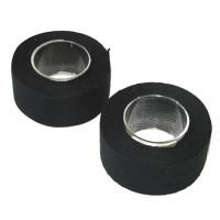 DURCA Lot de 2 rubans de guidon - L 2,2 m - Noir