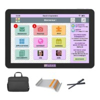 Pack FACILOTAB Tablette L WIFI / 3G - 32Go + support + sacoche + 2 stylets