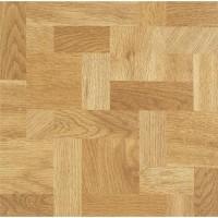 Lot de 22 dalles vinyle - 2,05 m² Wood Bloc auto-adhésive 30,5 cm x 30,5 cm x 1,3 mm