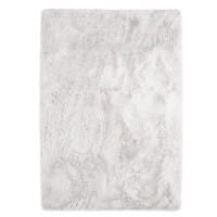NEO YOGA Tapis de salon ou chambre - Microfibre extra doux - 120x170 cm - Blanc