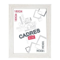 CADRES & CIE Cadre photo Enzo - MDF - 23 x 1,4 x 29,2 cm