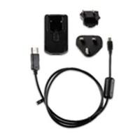GARMIN Chargeur secteur - avec cable mini et micro USB et adaptateur EU - Noir