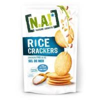 N.A Rice Crackers Sachet de Sel de Mer - 70 g