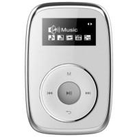 MPMAN CLIPSY 4 GB Baladeur MP3 4 GB avec clip de fixation - Blanc
