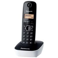 Panasonic KX-TG1611FRW Solo Téléphone Sans Fil Sans Répondeur Noir Blanc