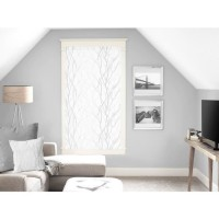 SOLEIL D'OCRE Brise bise Liane 60x120 cm - Blanc
