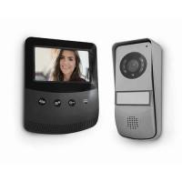 AVIDSEN Visiophone 2 fils - Écran 4,3 pouces - Noir/Gris