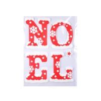 AUTOUR DE MINUIT Sticker floque noël - 28,5x40 cm