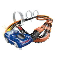 Circuit Wave Racer Mega Match - 3 loopings & duels + 2 voitures