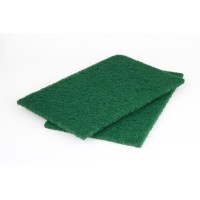 WOLFCRAFT 2 Tampons fibre abrasive - 150x230 mm - grain gros