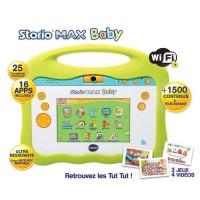 """VTECH - Console Storio Max Baby 5"""" - Tablette Éducative Enfant 5 Pouces - Tut Tut Aventures"""