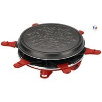 MOULINEX RE160811 Appareil a raclette Accessimo 6 personnes - Rouge