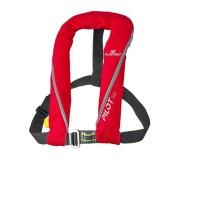 PLASTIMO Gilet de sauvetage Pilot 165 Hydrostatique Hammar avec harnais - Rouge
